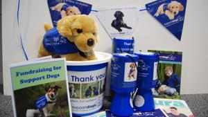 support dogs fundraising pack