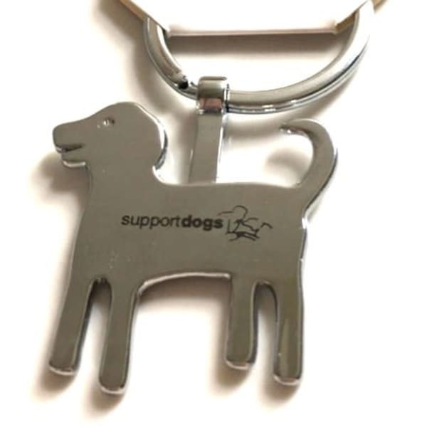 Support Dogs keyring