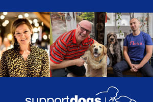 Leading figures from the worlds of business, finance and marketing join Support Dogs' board of trustees