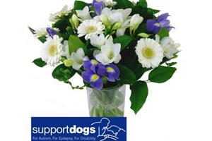 Support Dogs' flowers