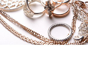 Recycle unwanted jewellery
